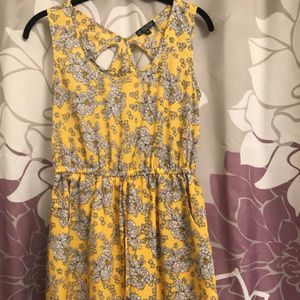 Yellow Floral Dress from Macy's